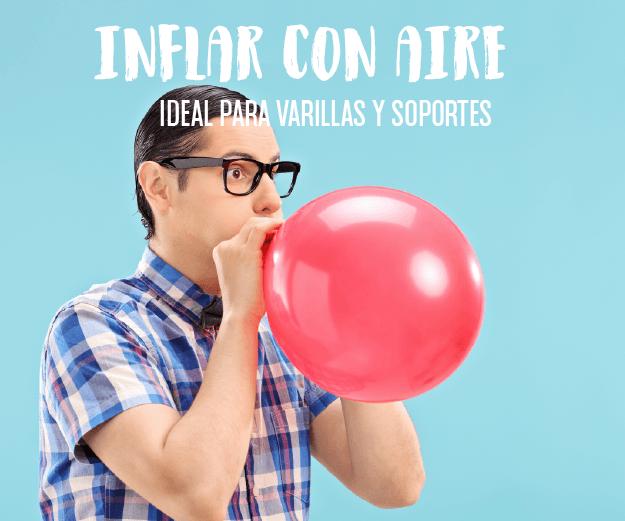 Accesorios para inflar globos con aire