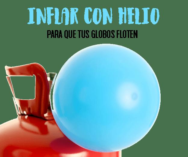 Accesorios para inflar globos con helio